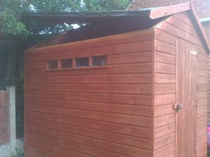 Extra security for your sheds and garage in South Yorkshire