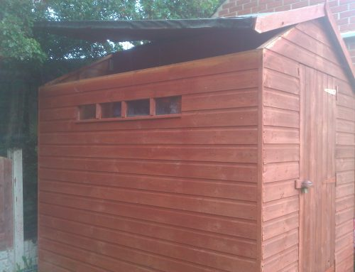 "Autumn Shed Campaign ""ALARM YOUR SHED OR GARAGE"""