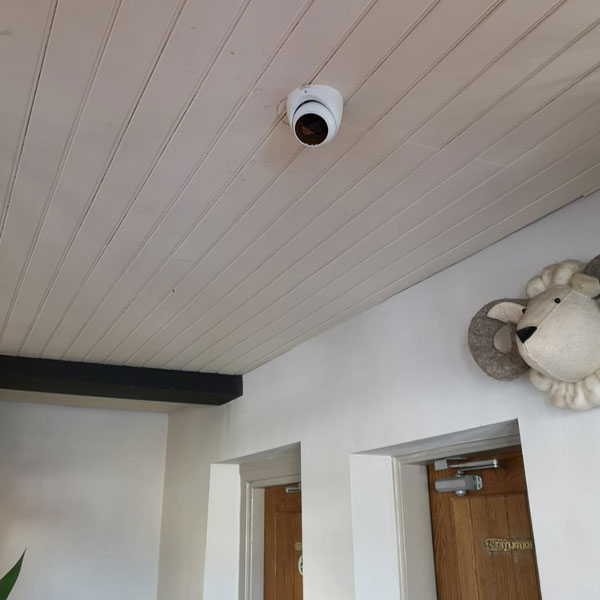 New CCTV System Installation by Kent Alarms in a Public House in Barnsley